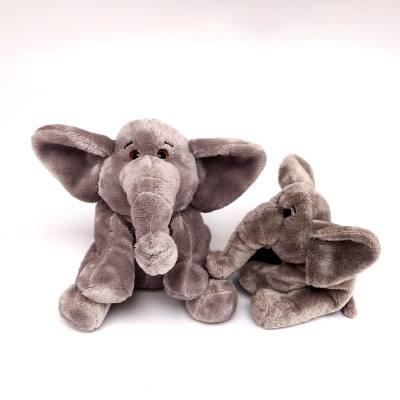 Elephant sitting Cute SML 18cm