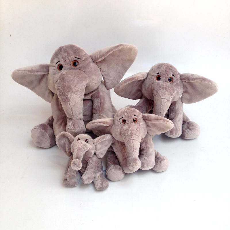 Elephant sitting Cute XL 45cm