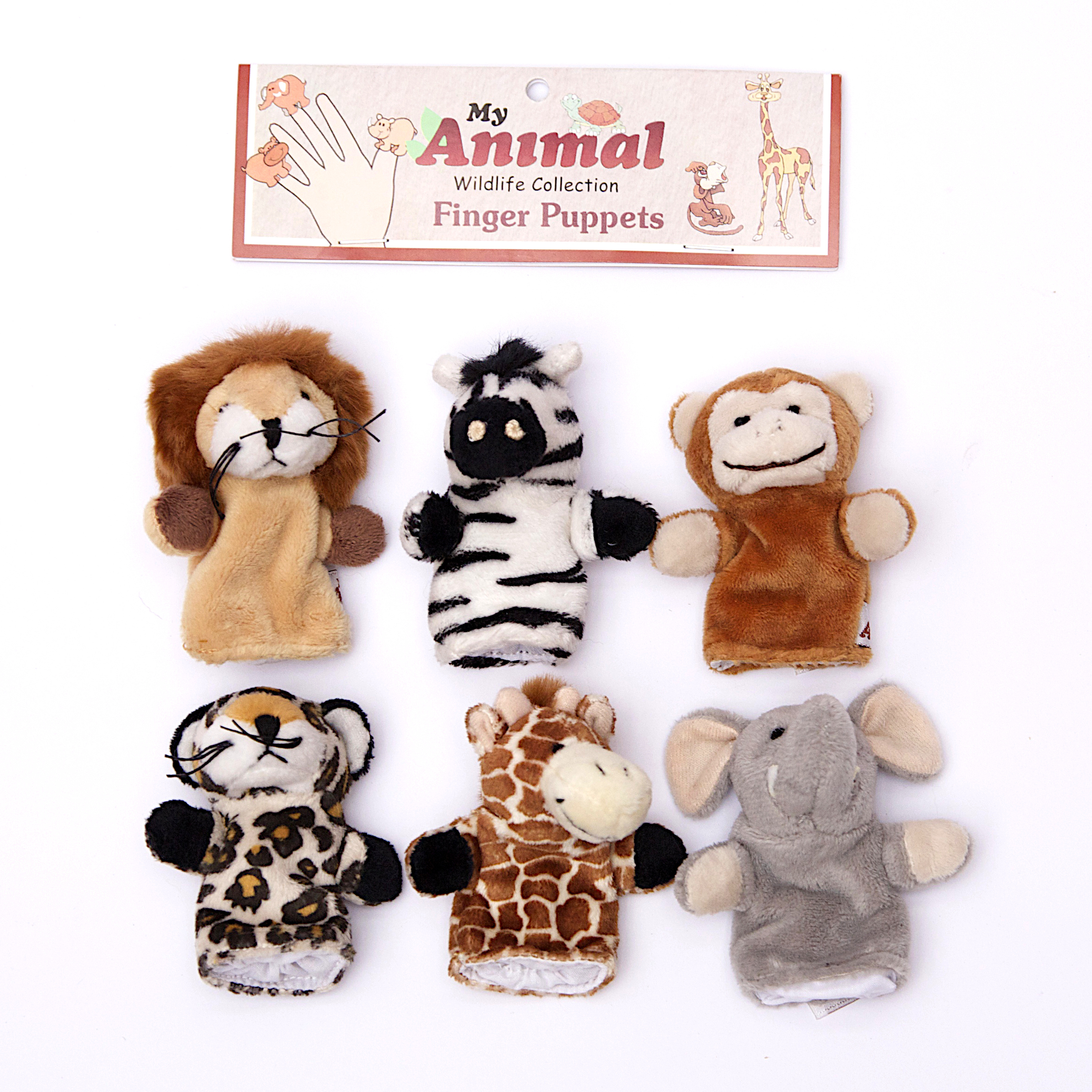 My Finger puppet baby 2 pack